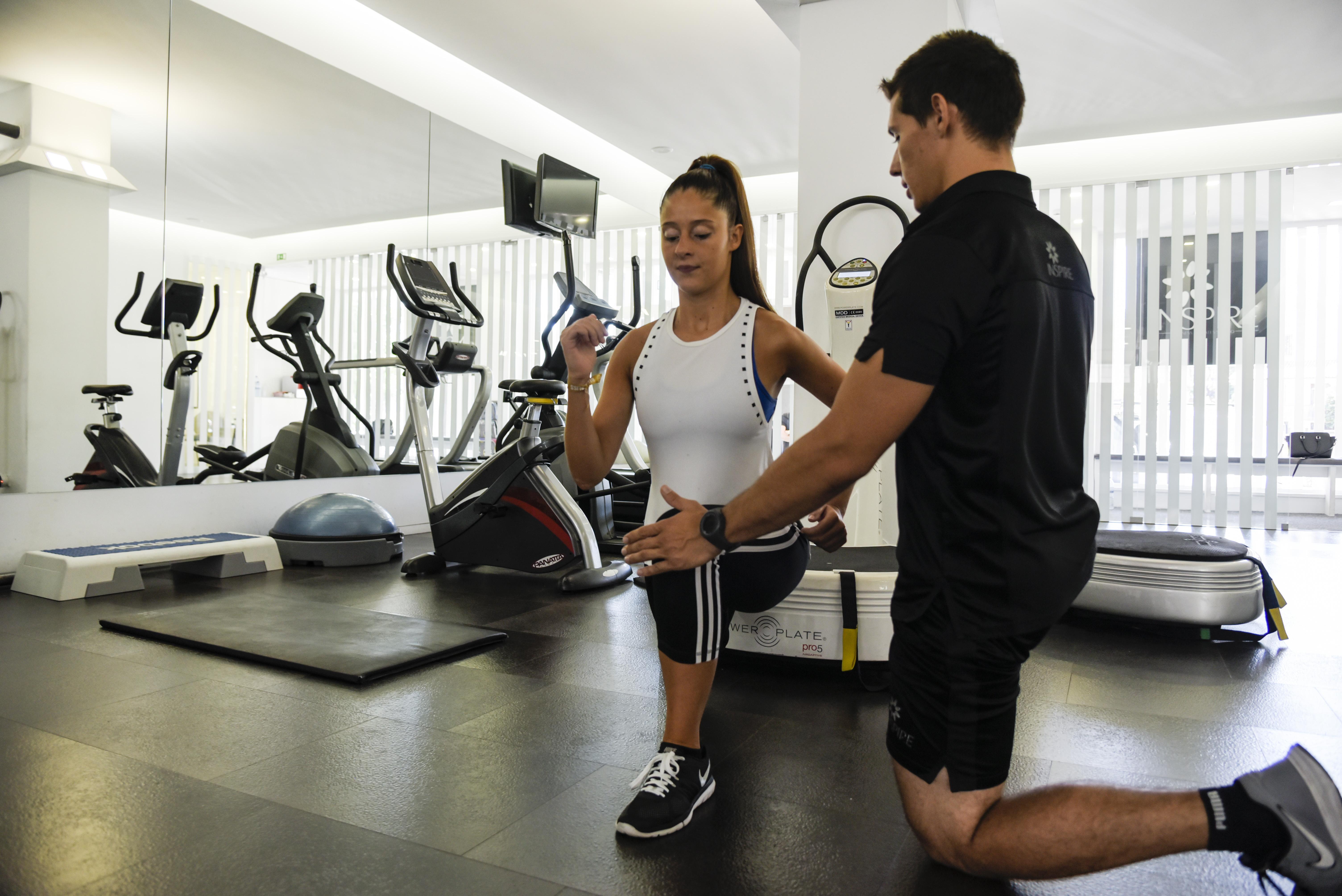 fitness com Power Plate inspire studio porto