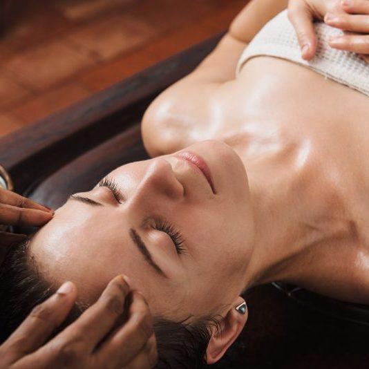 massagem ayurvedica rosto